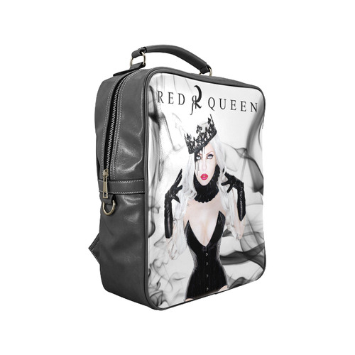 Red Queen Elena Square Backpack (Model 1618)