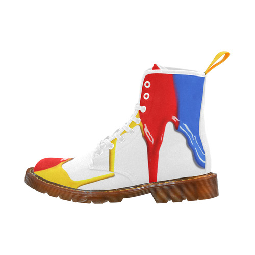 Colorful Martin Boots For Women Model 1203H