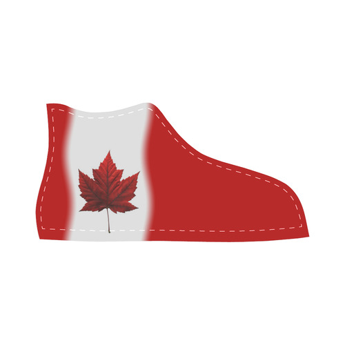 Canada Flag Kid's High Top Sneaker Shoes High Top Canvas Kid's Shoes (Model 002)