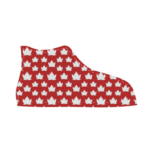 Cute Canada Kid's Sneakers High Top Canvas Kid's Shoes (Model 002)