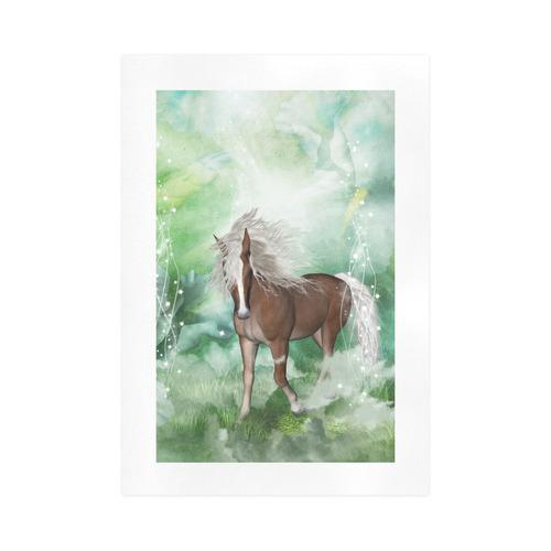 Horse in a fantasy world Art Print 16''x23''