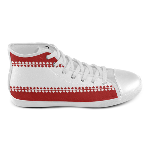 Canada Souvenir Sneakers Kid's High Tops High Top Canvas Kid's Shoes (Model 002)