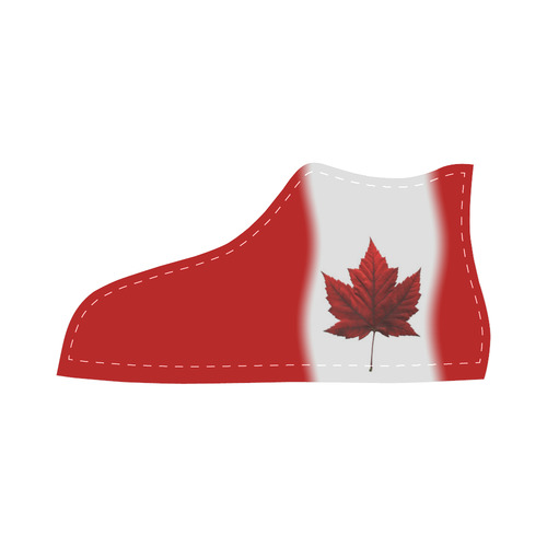 Canada Flag Kid's High Top Sneaker Shoes High Top Canvas Kid's Shoes (Model 013)