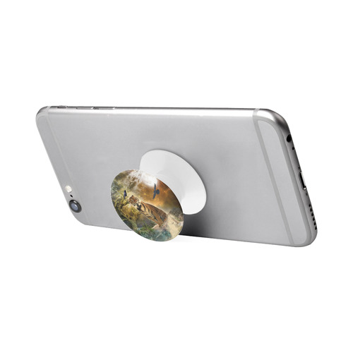 Awesome itger in the night Air Smart Phone Holder