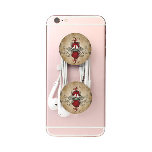 The couple dove with roses Air Smart Phone Holder