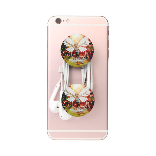 Fairy with swan Air Smart Phone Holder