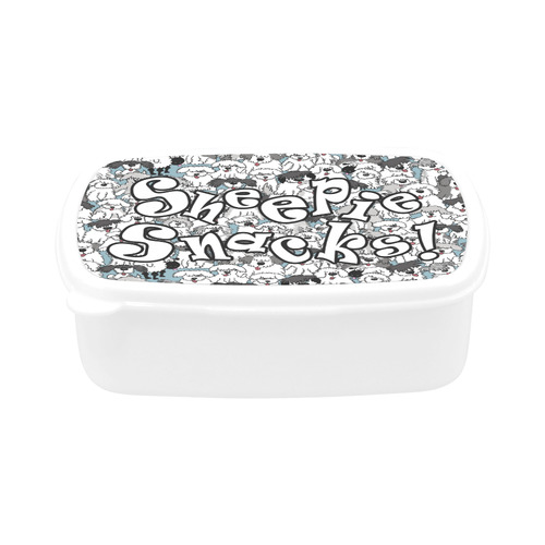 aqua sheepies JW set copy Children's Lunch Box