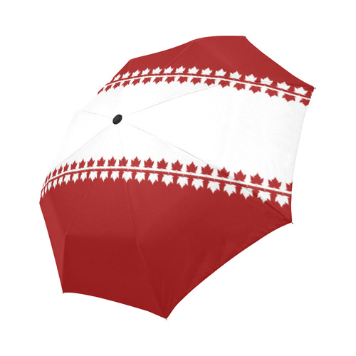 Classic Canada Umbrella Red & White Souvenir Umbrella Auto-Foldable Umbrella