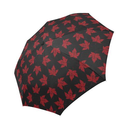 Cool Canada Umbrella Retro Maple Leaf Souvenirs Auto-Foldable Umbrella
