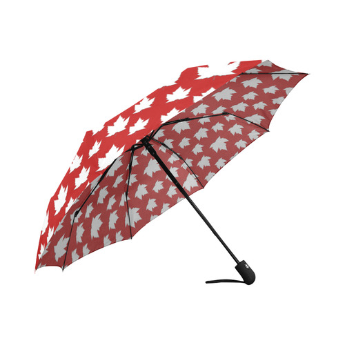 Canada Umbrella Fun Maple Leaf Souvenirs Auto-Foldable Umbrella