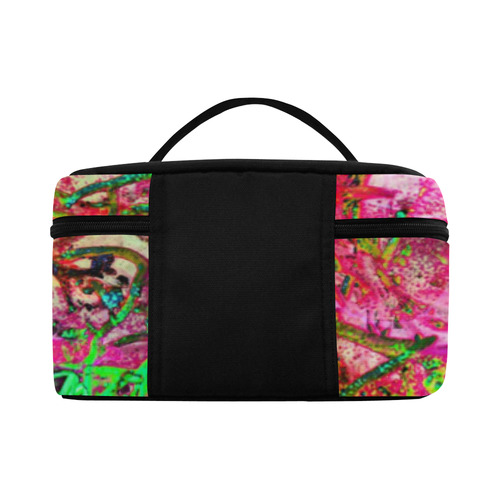 Sea weed in Neon by Martina Webster Cosmetic Bag/Large (Model 1658)