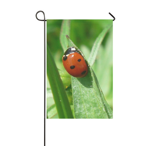 lady bug by JamColors Garden Flag 12''x18''(Without Flagpole)
