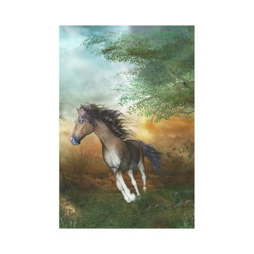 Wonderful Running Horse Garden Flag 12u0027u0027x18u0027u0027(Without Flagpole)
