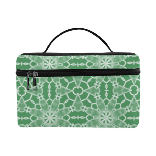 Sexy Green Lace Cosmetic Bag/Large (Model 1658)