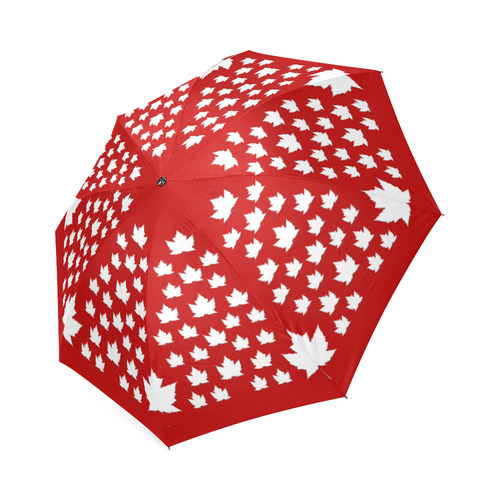 Canada Umbrella Maple Leaf Souvenirs Foldable Umbrella