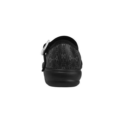 Baphomet Pentagram Occult Gothic Virgo Instep Deep Mouth Shoes