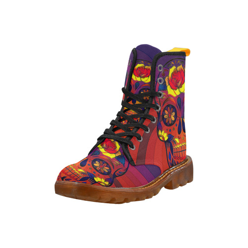 Skull_20170306_by_JAMColors Martin Boots For Women Model 1203H