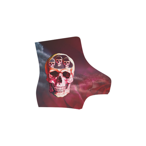 Funny Skulls Martin Boots For Women Model 1203H