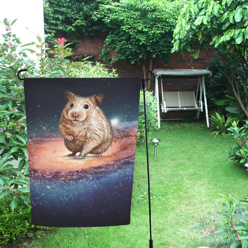 17 Garden Flag 12''x18''(Without Flagpole)