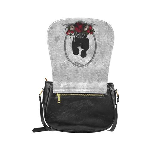 Dark Union Vampire Goth Art Classic Saddle Bag/Large (Model 1648)