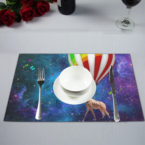 11 Placemat 12'' x 18'' (Four Pieces)