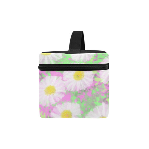 Daisies. Inspired by the Magic Island of Gotland. Cosmetic Bag/Large (Model 1658)