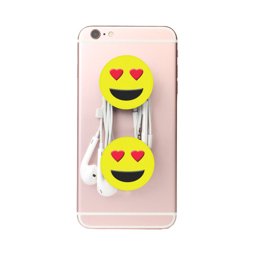 Emoticon Heart Smiley Air Smart Phone Holder