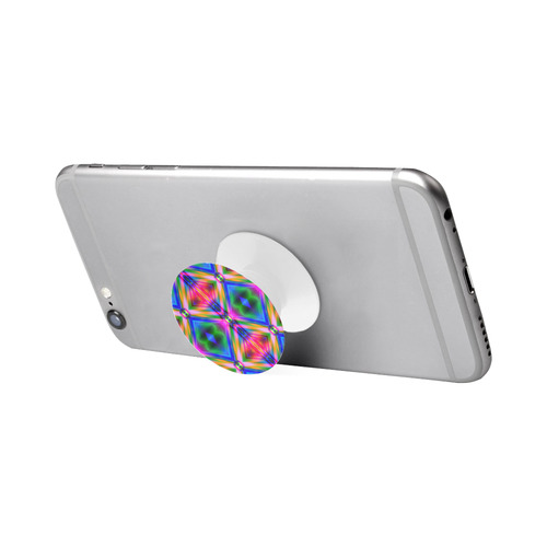 Groovy Psychedelic Diamonds (Pinks and Blues) Air Smart Phone Holder