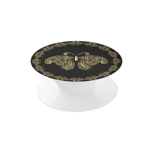Golden Circle of Butterflies Air Smart Phone Holder