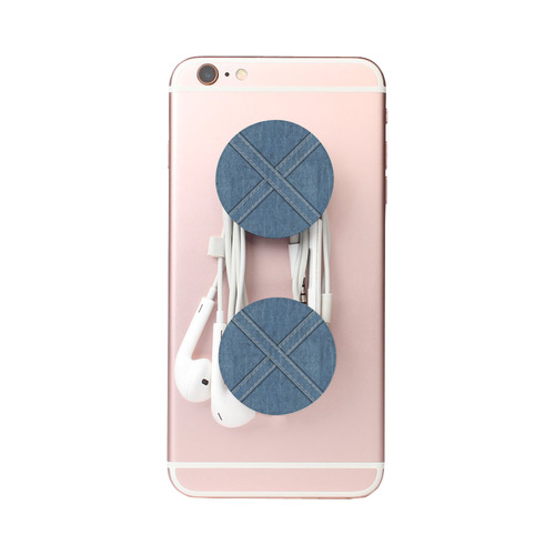 Denim-look Texture with Seams Air Smart Phone Holder
