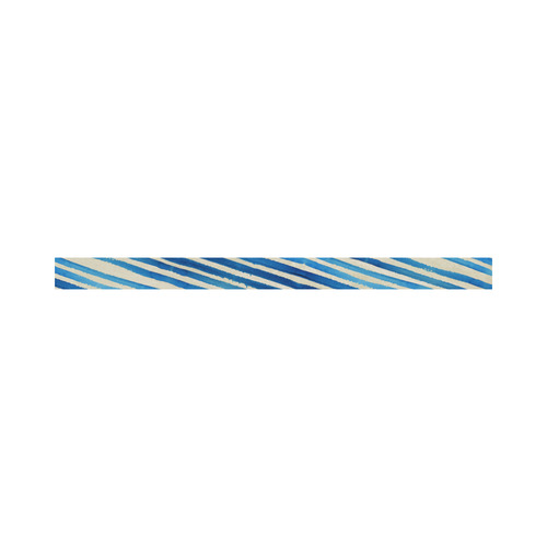Watercolor STRIPES grunge pattern - blue Sports Headband