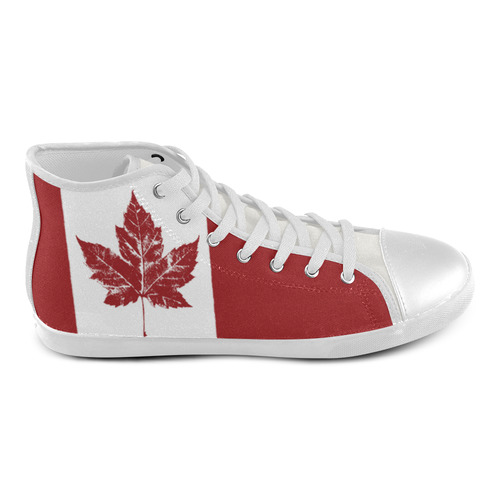 Cool Canada Kid's Sneakers Hightops High Top Canvas Kid's Shoes (Model 013)