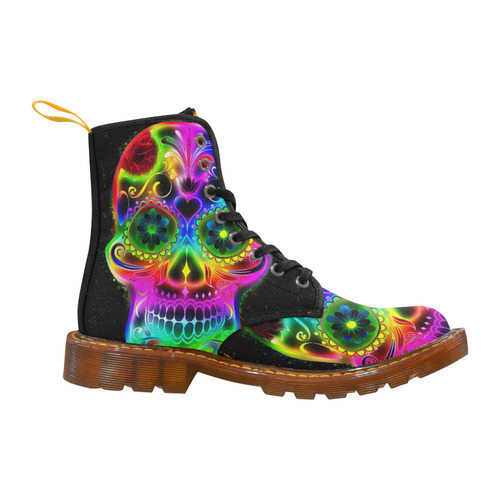 Skull20160604_by_JAMColors Martin Boots For Women Model 1203H