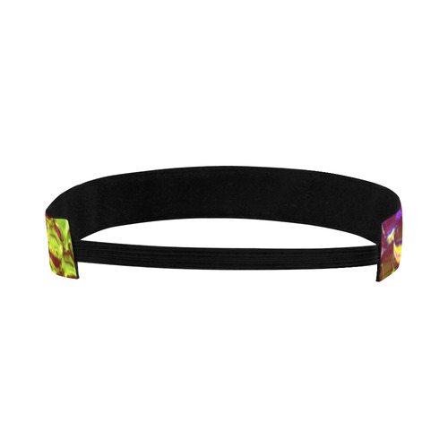 Chrome Snake Pattern B by JamColors Sports Headband