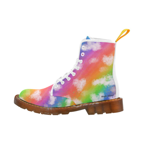 Rainbow Love. Inspired by the Magic Island of Gotland. Martin Boots For Men Model 1203H