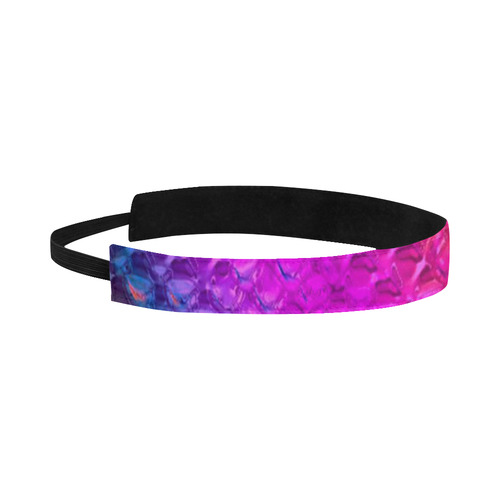 Chrome Snake Pattern C by JamColors Sports Headband