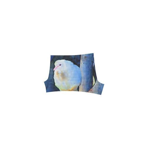 White Bird on Branch Briseis Skinny Shorts