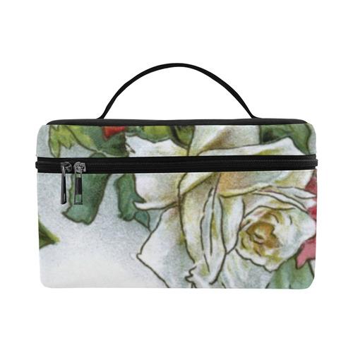 Vintage Roses Floral Lunch Bag/Large (Model 1658)