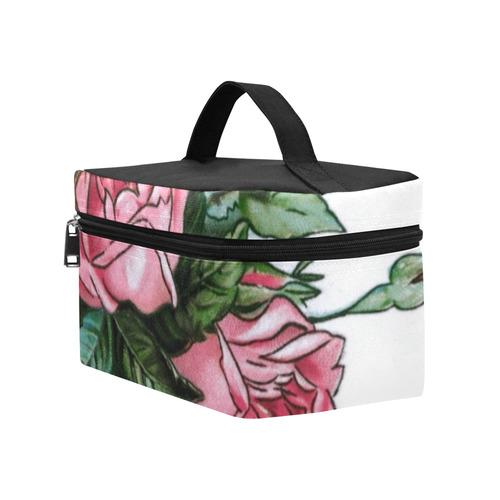 Roses Vintage Floral Lunch Bag/Large (Model 1658)