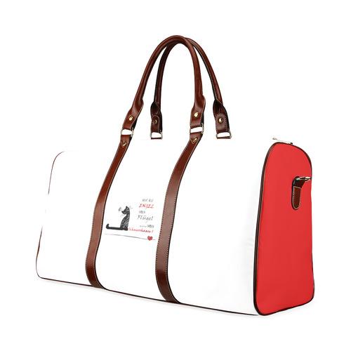 ... Katzenengel Waterproof Travel Bag Small (Model 1639) ... 356f7e1b00124