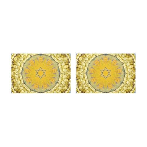 Jerusalem 9 Placemat 12'' x 18'' (Two Pieces)
