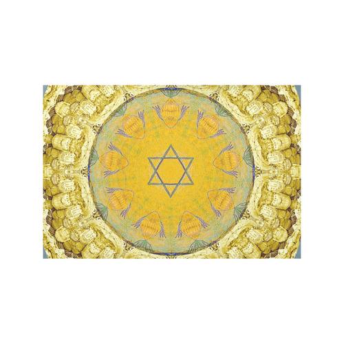 Jerusalem 9 Placemat 12'' x 18'' (Four Pieces)