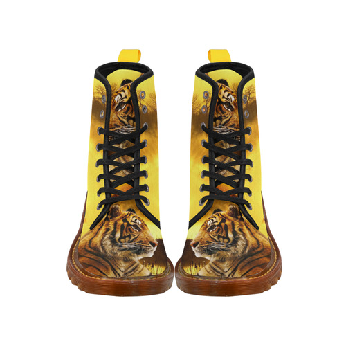 Tiger and Sunset Martin Boots For Men Model 1203H