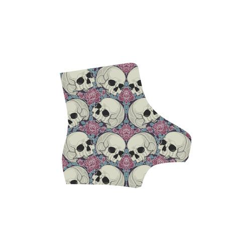 Sugar Skull Martin Boots For Women Model 1203H