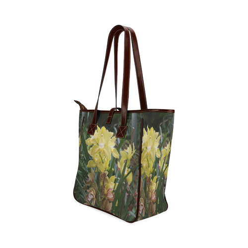 Yellow Orchids Classic Tote Bag (Model 1644)