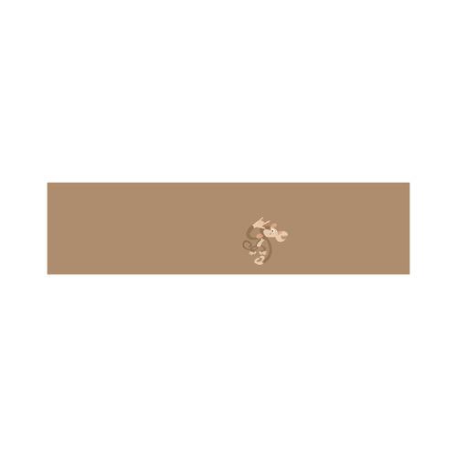 ASL I Love You Monkey Cosmetic Bag/Large (Model 1658)