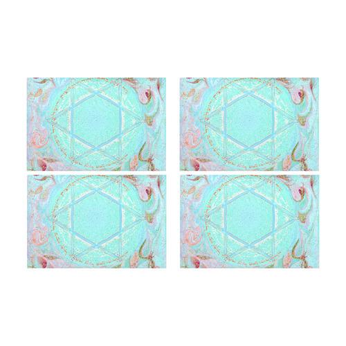 1419 Placemat 12'' x 18'' (Four Pieces)