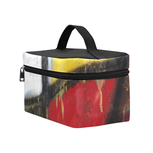 Medicine Wheel Graffiti Cosmetic Bag/Large (Model 1658)