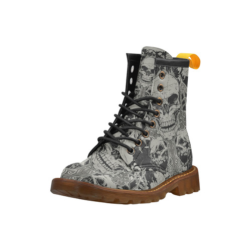Cool High Grade PU Leather Martin Boots For Women Model 402H