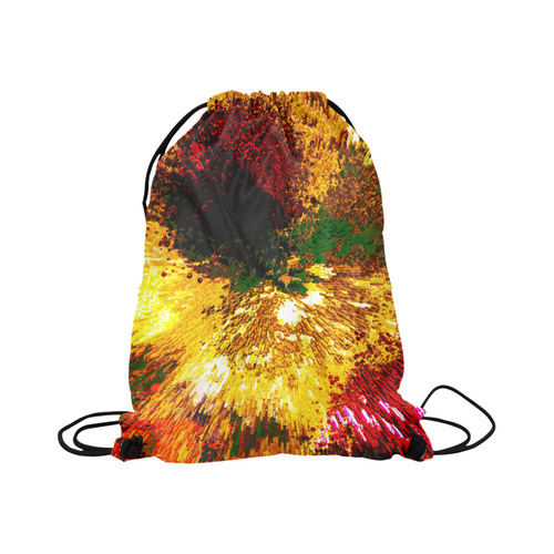 "explosive Large Drawstring Bag Model 1604 (Twin Sides)  16.5""(W) * 19.3""(H)"